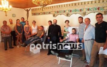 Εθελοντικές αιμοδοσίες στην Ηλεία και το καλοκαίρι