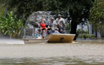 Στους 13 οι νεκροί από τις φονικές πλημμύρες στη Λουιζιάνα