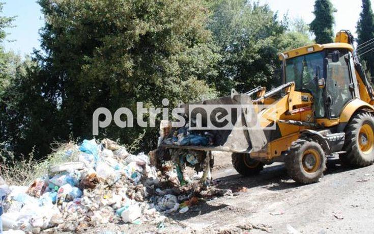 Τέλος στον εφιάλτη των σκουπιδιών στην Αρχαία Ολυμπία