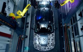 Μέτρησης υψηλής ακρίβειας παράγει ένα τρισδιάστατο μοντέλο BMW επόμενης γενιάς