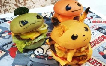 Τα Pokemon μπέργκερ που θα ξετρελάνουν μικρούς και μεγάλους