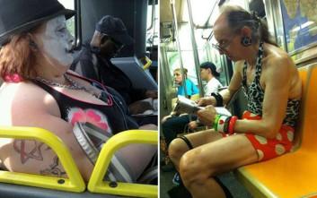 Τα παράξενα που συναντάς στα μέσα μεταφοράς