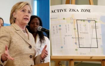 Xρήματα για την έρευνα κατά του Ζίκα θέλει η Κλίντον
