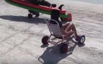 Το όχημα που σε γλιτώνει από την καυτή άμμο