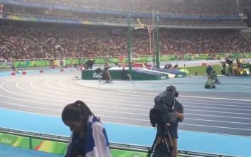 Βίντεο από τη στιγμή που η Κατερίνα Στεφανίδη κατακτά το χρυσό