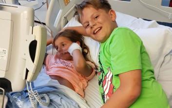 Ο 11χρονος που έσωσε τη ζωή της αδερφής του εντοπίζοντας έναν σπάνιο όγκο