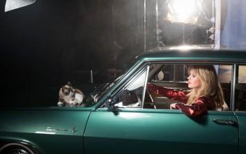 Η πιο διάσημη γάτα του κόσμου ποζάρει μαζί με την κόρη του Μικ Τζάγκερ για την Opel