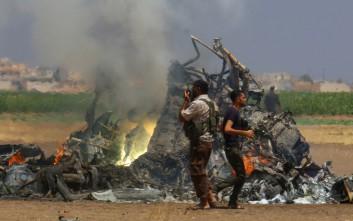 Αεροσκάφος της συριακής πολεμικής αεροπορίας συνετρίβη βόρεια της Δαμασκού