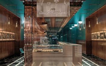 Πολυτελές espresso bar στο σιδηροδρομικό σταθμό της Φλωρεντίας