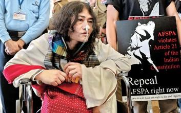 Ακτιβίστρια σταματάει την μεγαλύτερη σε διάρκεια απεργία πείνας στον κόσμο