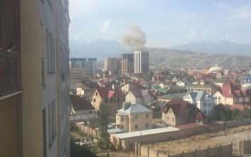 Ένας νεκρός από την έκρηξη στο Κιργιστάν