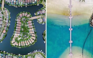 Η Σιγκαπούρη από ψηλά, μια πόλη σαν μινιατούρα