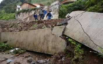 Έξι νεκροί στο Μεξικό από κατολισθήσεις λόγω της τροπικής καταιγίδας Ερλ