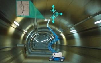 Το ρομπότ που γνωρίζει πότε μία σήραγγα χρειάζεται επισκευές