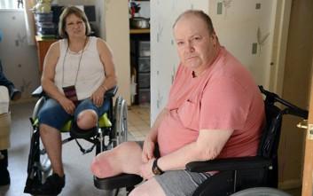 Το ζευγάρι που έχασε από ένα πόδι λίγους μήνες πριν το γάμο του