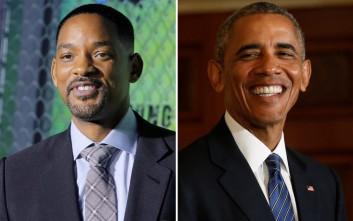 Την έγκριση του Ομπάμα έχει ο Will Smith για να τον υποδυθεί σε ταινία