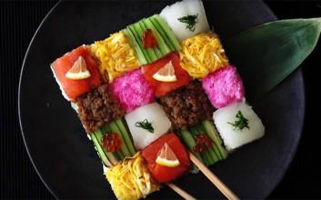 Μωσαϊκο από σούσι!