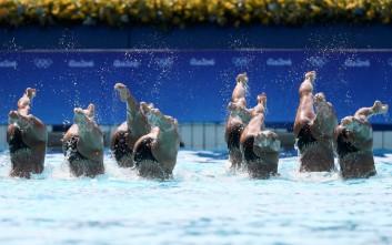 Η πανδαισία της συγχρονισμένης κολύμβησης