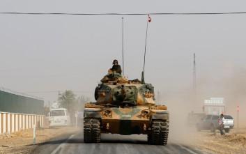 Ο τουρκικός στρατός αναπτύσσεται βαθύτερα στη βόρεια Συρία
