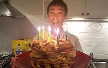 Η τούρτα-«θερμιδική βόμβα»