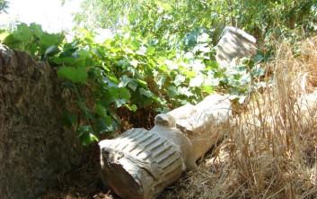 Αποκαθίσταται το Τρόπαιο του Σύλλα που βρέθηκε στον Ορχομενό Βοιωτίας
