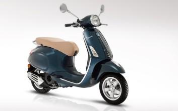Με δυνατότερους κινητήρες τα νέα Piaggio Primavera και Sprint