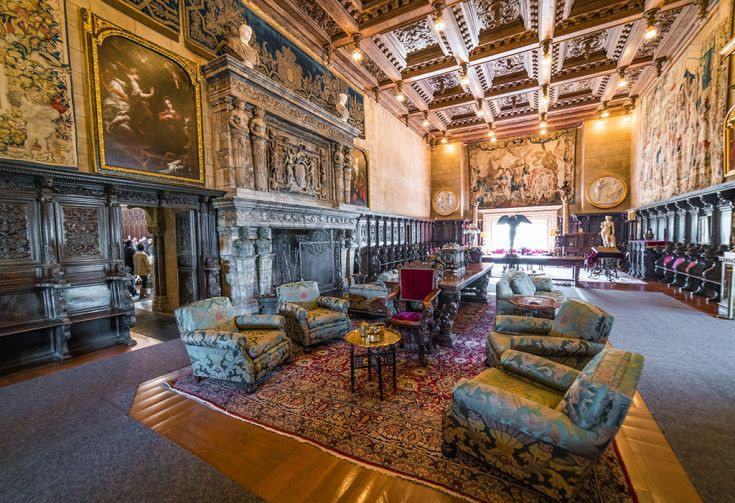 william-randolph-hearst-castle-interior-california
