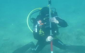 Υποβρύχια ανασκαφή στην κοιλάδα Αργολίδας
