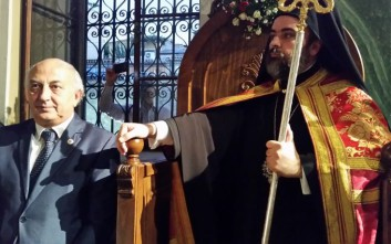 Αμανατίδης: Ενδυναμώνουμε τον νέο ιεράρχη Σμύρνης στην υψηλή αποστολή του