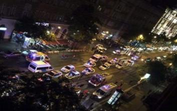 Ισχυρή έκρηξη συγκλόνισε πριν από λίγο την Βουδαπέστη