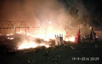 Εκρηκτική η κατάσταση στη Λέσβο