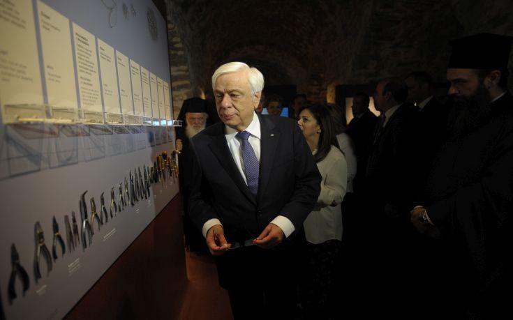 Παυλόπουλος: Να σέβονται την παράδοση του τόπου στον οποίο αναπτύσσονται οι τράπεζες