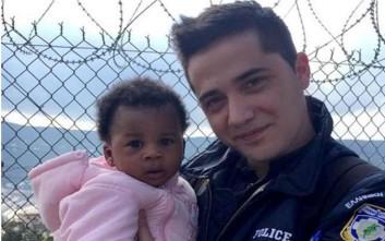 Αστυνομικός θέλησε να υιοθετήσει προσφυγόπουλο στη Σάμο