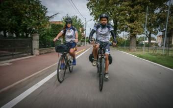 Κωνσταντινούπολη - Κρήτη με ποδήλατο για τα παιδιά με αναπηρία