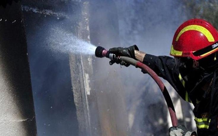 Αναστάτωση από φωτιά σε κτίριο του δήμου Χανίων