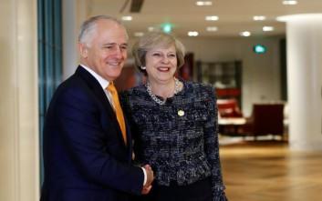 Βρετανία και Αυστραλία χτίζουν εμπορικές γέφυρες μετά το Brexit