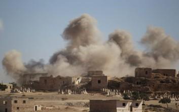 Η Τουρκία βομβαρδίζει τα βόρεια της Συρίας