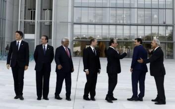 Γεύσεις Ελλάδας δοκίμασαν οι ηγέτες του Νότου στο ίδρυμα Σταύρος Νιάρχος