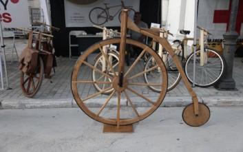Λάτρεις του ποδηλάτου δίνουν ραντεβού στην Τεχνόπολη