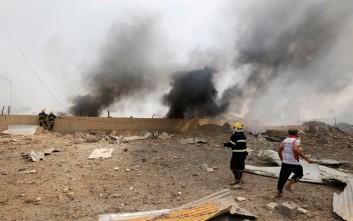 Μεγάλη έκρηξη σε αποθήκη όπλων στο Ιράκ