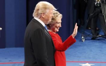 Μεγάλωσε το προβάδισμα της Χίλαρι μετά το debate