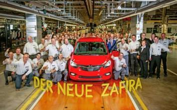 Ξεκίνησε η παραγωγή του νέου Opel Zafira