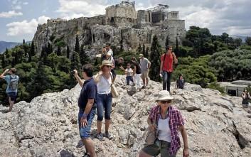Αύξηση 11,5% εμφάνισε η τουριστική κίνηση