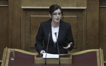 Παραιτείται από βουλευτής η Άννα Μισέλ Ασημακοπούλου