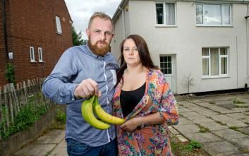 Οι μπανάνες που αγόρασαν από το σούπερ μάρκετ έκρυβαν κάτι τρομακτικό