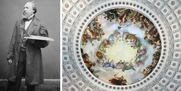 O Έλληνας που πέρασε 25 χρόνια ζωγραφίζοντας το αμερικανικό Καπιτώλιο!