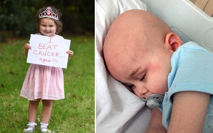 Η 4χρονη που είχε λίγες εβδομάδες ζωής και «εξαφάνισε» δώδεκα όγκους