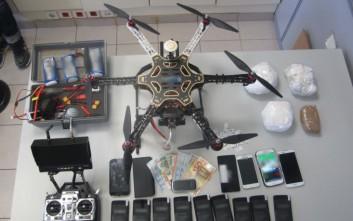 Ναρκωτικά στις φυλακές Λάρισας με τη βοήθεια… drone