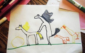 Ζωγραφιές των παιδιών που... παρερμηνεύονται
