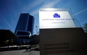 ΕΚΤ: Στο 14,88% ο βασικός δείκτης κεφαλαίων των ελληνικών τραπεζών στο πρώτο τρίμηνο του 2019